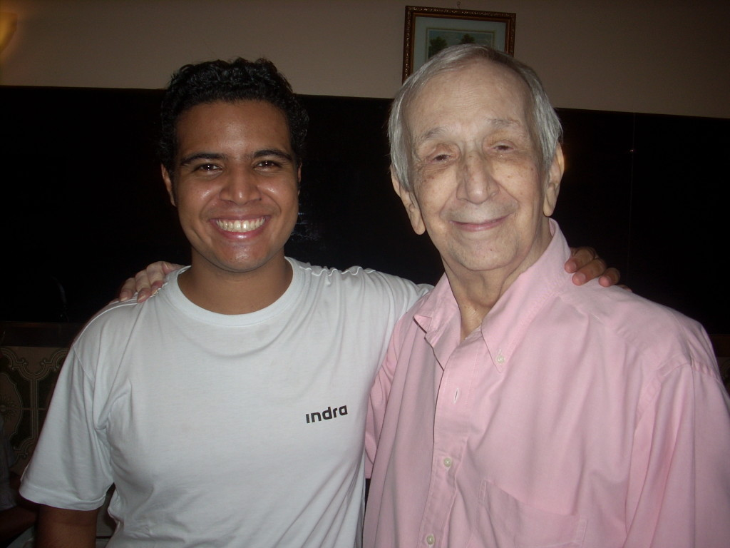 Glauber Rodger e Telmo Martino no Rio de Janeiro